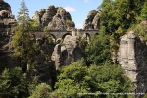 <p><b>Die Bastei</b><br /> Wehrbrücke</p>